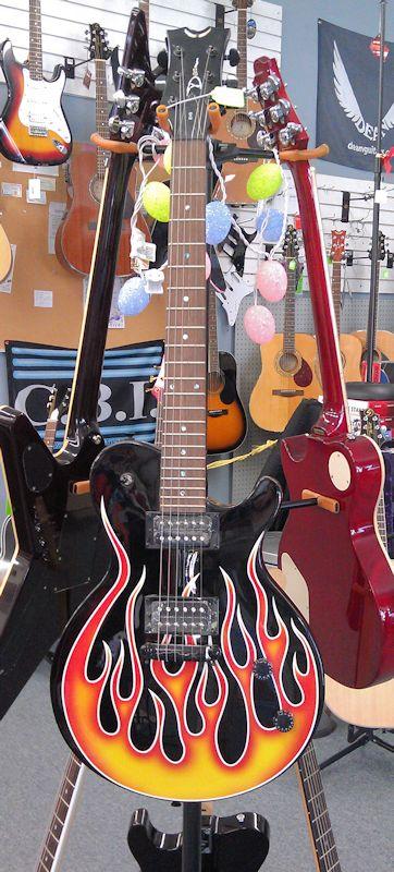 Dean Evo Dragster Guitar