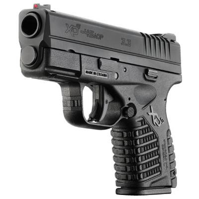 SPH XDS 45ACP 3.3″ 5RD BLK