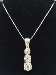 Diamond Pendant Necklace Mooresville Jewelry
