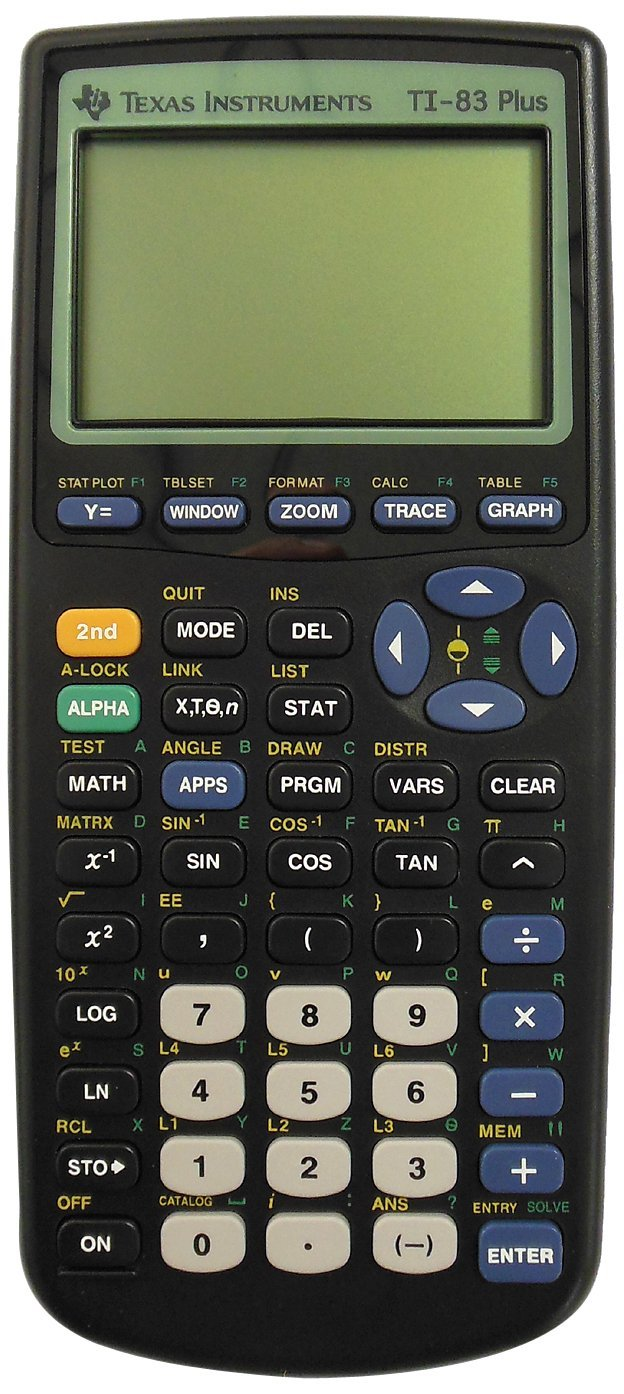Texas Instruments TI-83 Plus Graphing Calculator (Used)