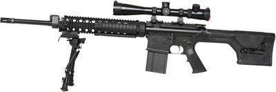 AR-10 BLACK SUPER S.A.S.S. RIFLE IN 7.62 - ArmaLite Inc